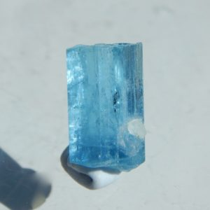 Supberb color aquamarine from Vietnam.