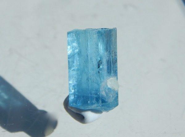 Supberb color aquamarine from Vietnam.